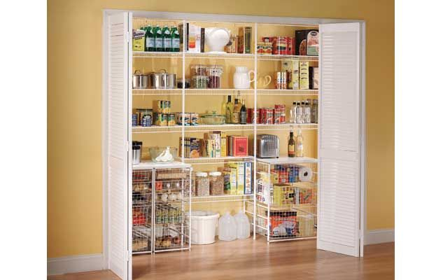 Ventilated Shelving Pantry With Storage Shelving Pantry Shelving Pantry Remodel Shelving