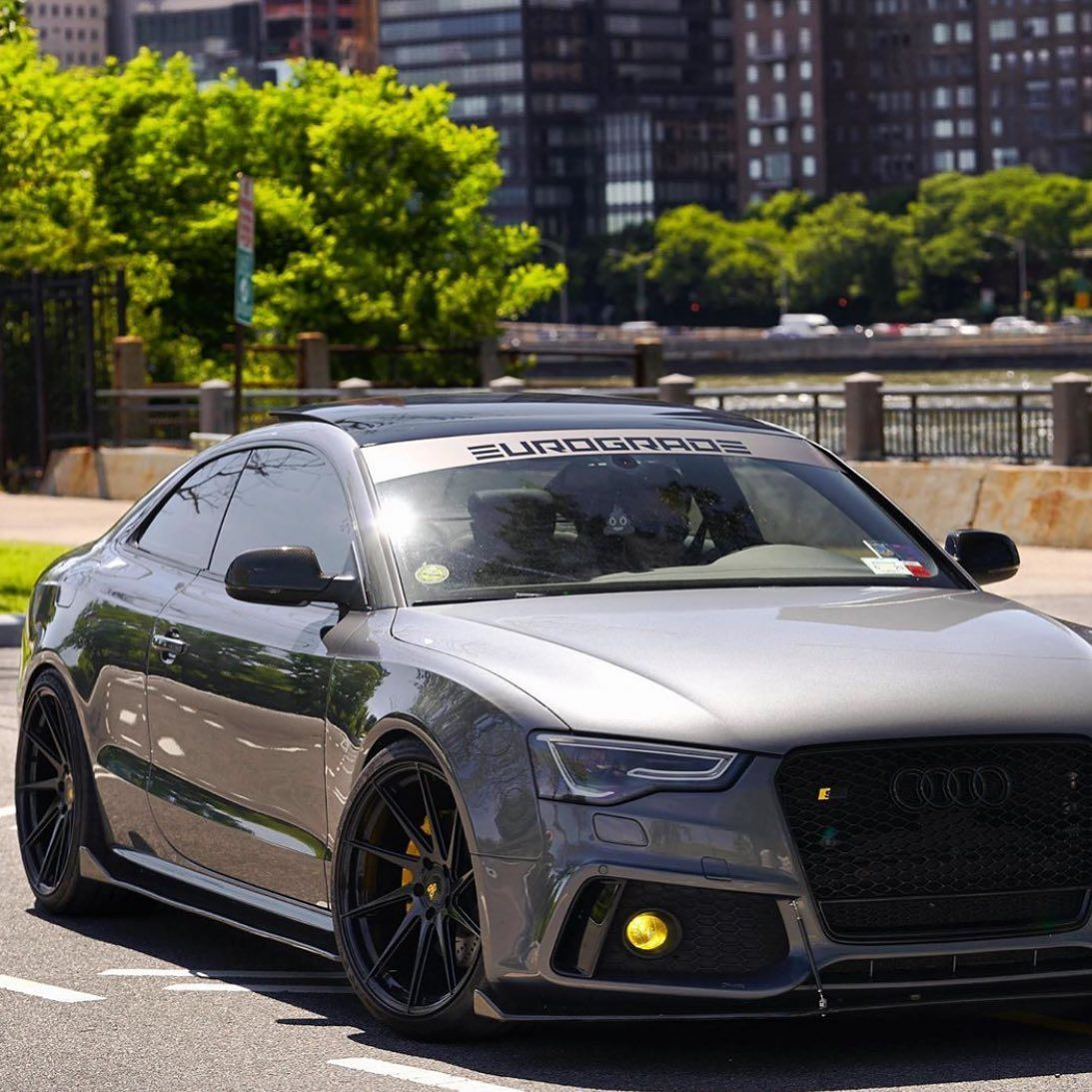 Caractere Front Bumper For Cars With Parking Sensors Headlight Washers And Foglights Fits Audi A5 B8 5 Bk Motorsport Audi S5 Audi Audi A5