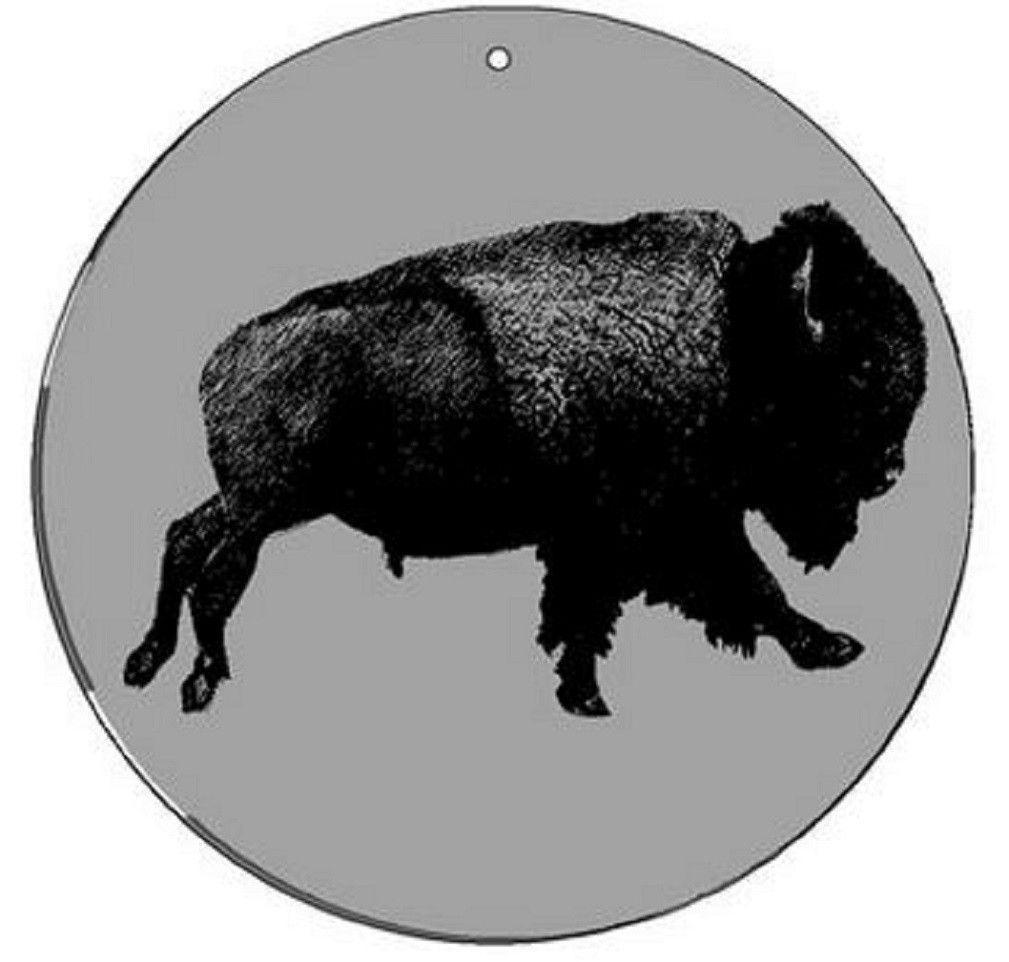 Buffalo - Medium 5.5 Inch CineSpinner - Animated Suncatcher
