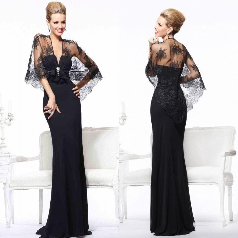 Long Transparent Lace Wedding Guest Gown  Ball Women Formal Evening Party Dress  | Ropa, calzado y accesorios, Ropa de boda y formal, Damas de honor y vestidos formales | eBay!