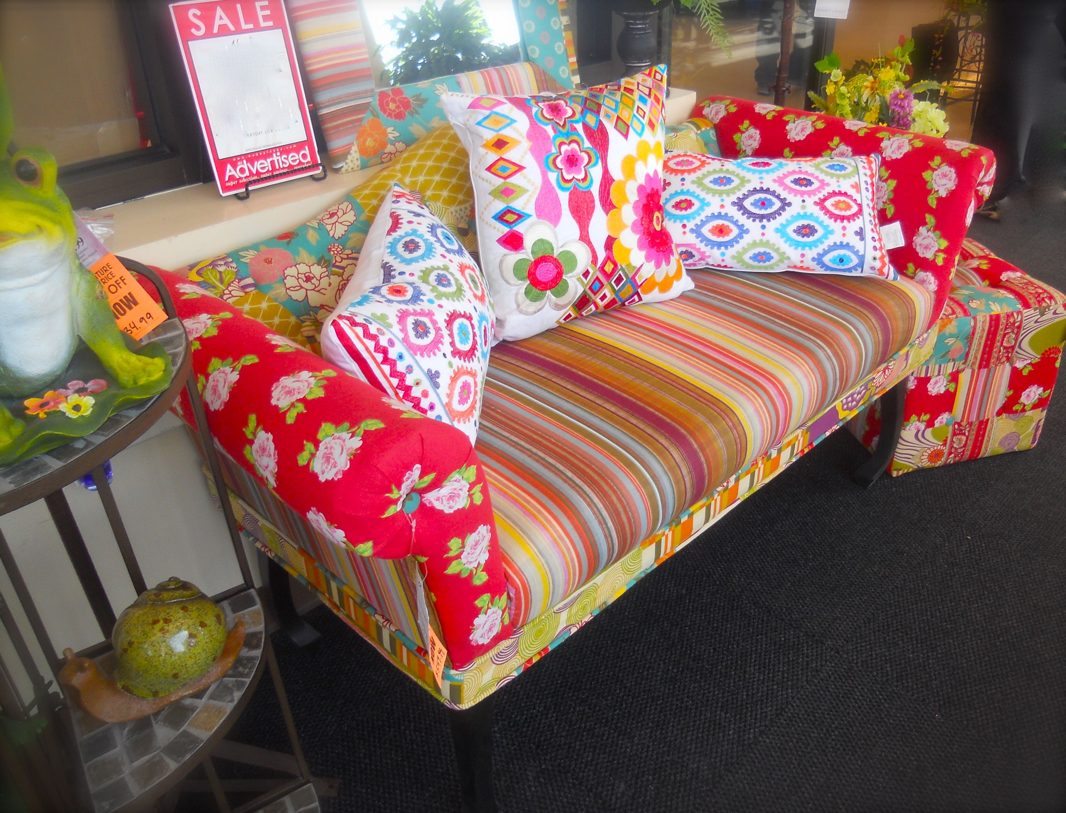 adorable and comfortable couch at hobby lobby. i do not think the ...