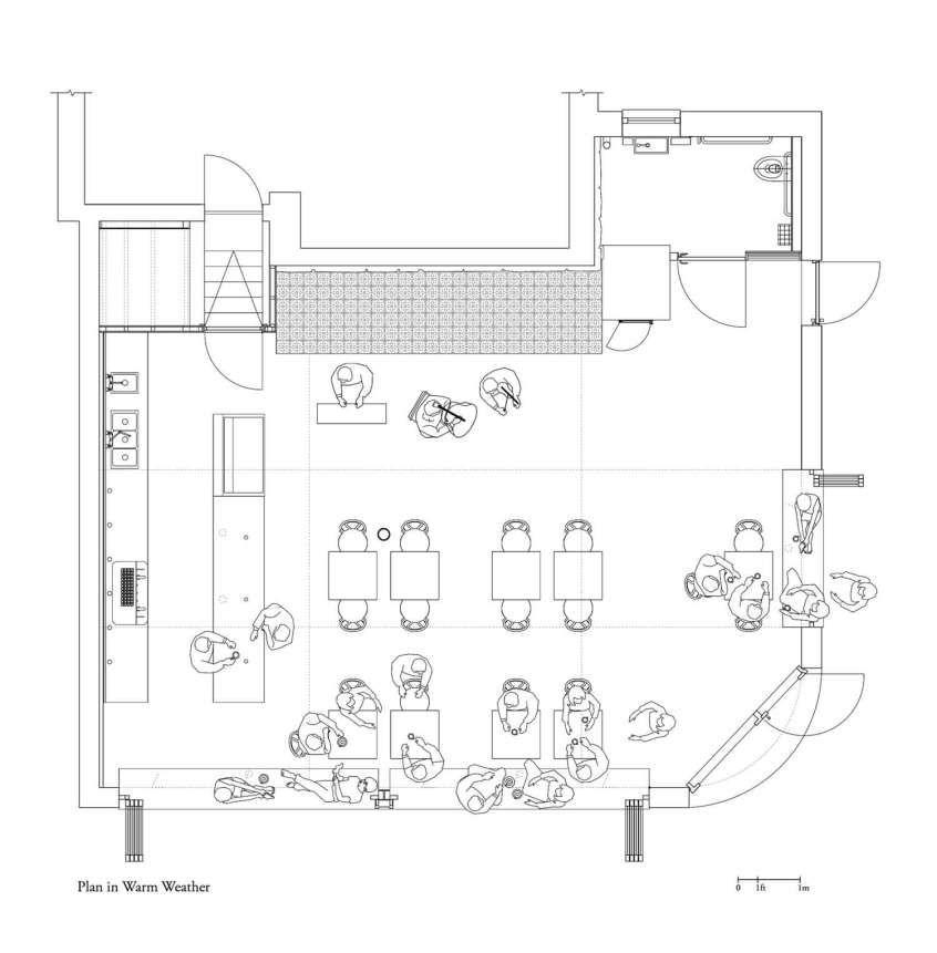 Cafe Fargo By Davidson Rafailidis Yellowtrace Coffee Shop Design Shop Design Restaurant Floor Plan