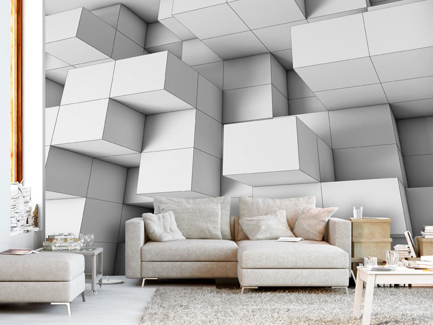 Do You Like Tetris? Then Shape With Modern Cubes Of 3D