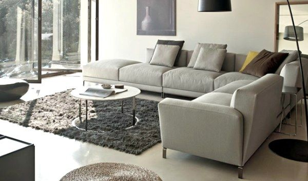 5 Chic Italian Furniture Manufacturers Avec Images Idee Deco Salon Gris Salon Moderne Gris Idee Deco Salon