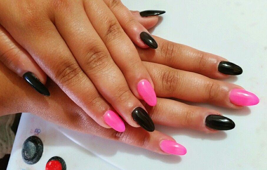 14++ Nail art rosa e nero inspirations