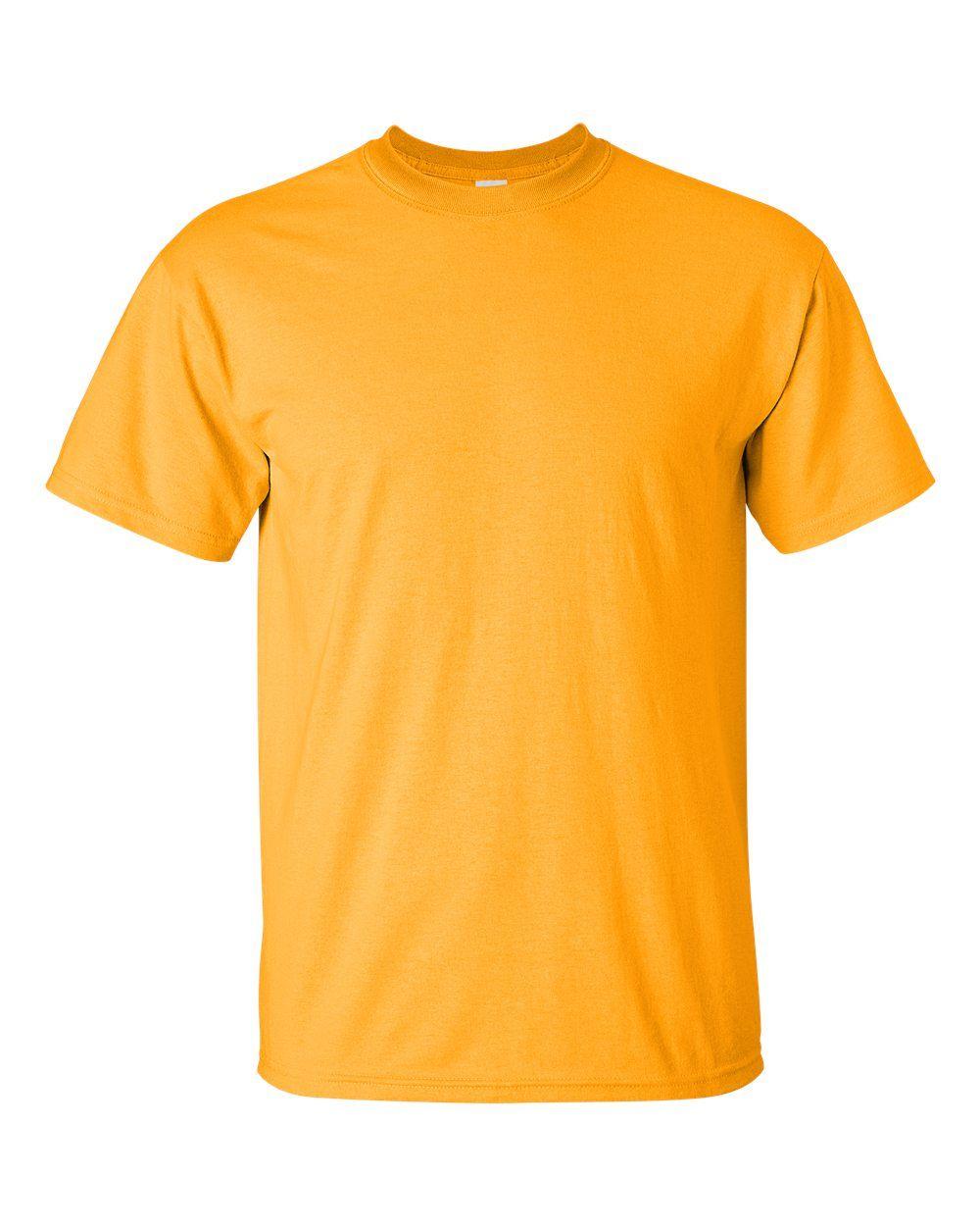 Download Gildan Ultra Cotton T Shirt 2000 Gold Medium In 2021 Wholesale Shirts T Shirt Cotton Tshirt