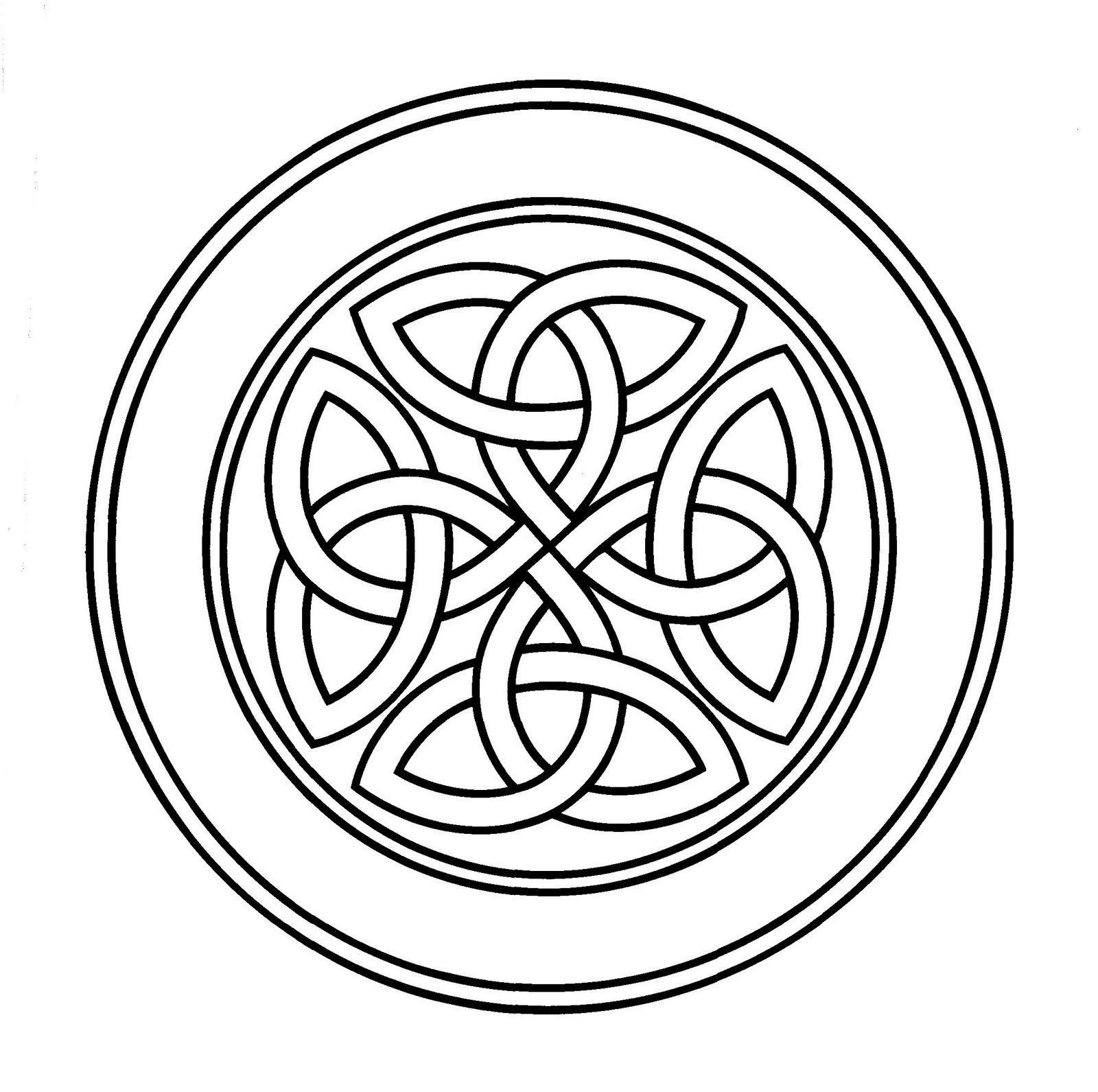 Celta redondo | celtas dibujos | Pinterest | Celta, Dibujo y Mandalas