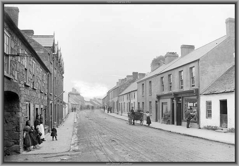 comber-mill-street-02.jpg (116050 bytes)   Old Photographs of ...