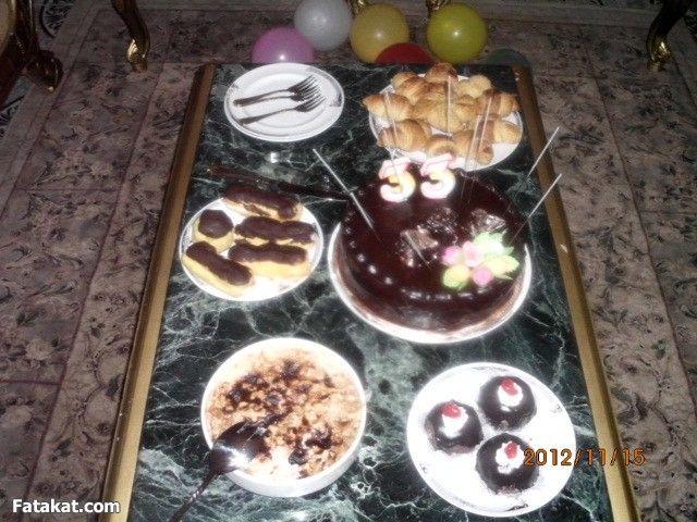 تجهيزات عيد ميلاد جوزي النتيجة عيد ميلاد بالصور Food Desserts Birthdays