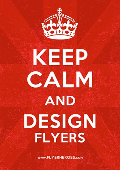 Free Keep Calm and Carry On Flyer and Poster Template - http ...