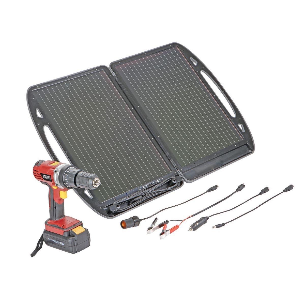 13 Watt Briefcase Solar Charger Solar Charger Best Solar Panels Solar Battery