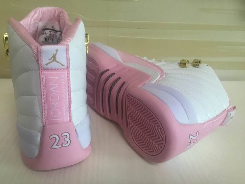 GS White Pink Shoes   Women Jordans