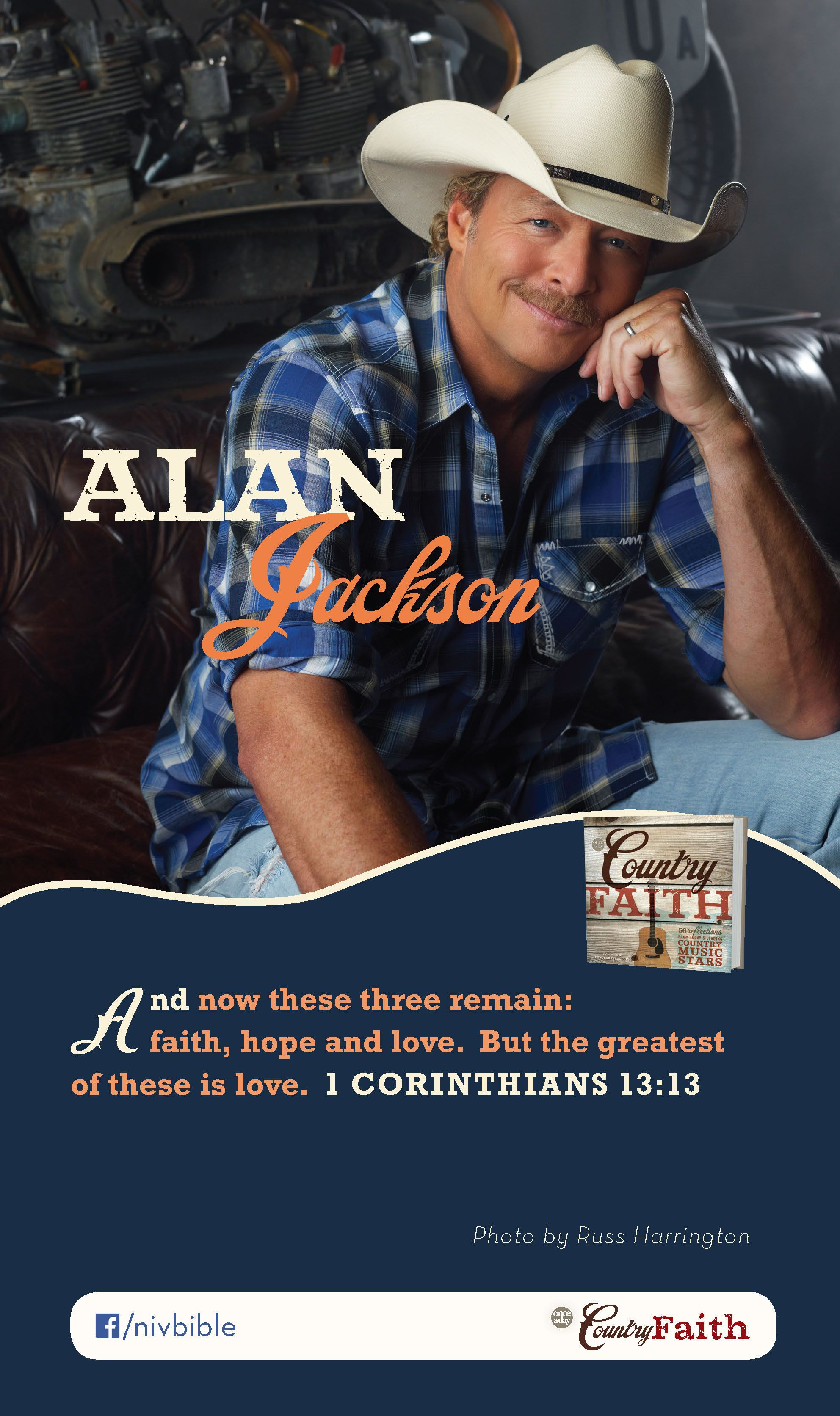 Alan Jackson Talks About His Favorite Bible Verse And Its