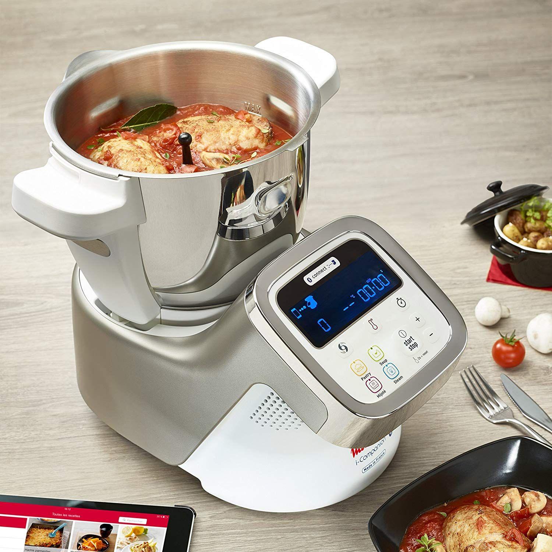 Moulinex I Companion Hf900110 Robot De Cocina Bluetooth 13 Programas Y 6 Accesorios Capacidad Acessórios De Decoração Para Casa Utensílios De Cozinha Cozinha