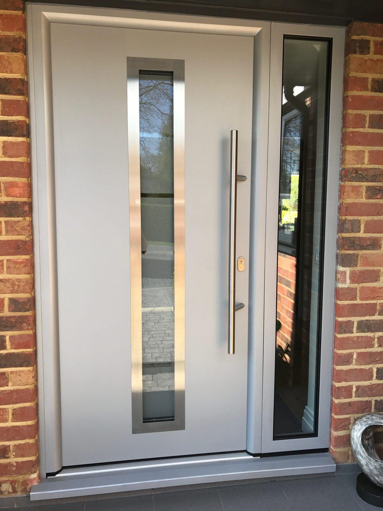 Quality Aluminium Front Door In Surrey Tp Improvements