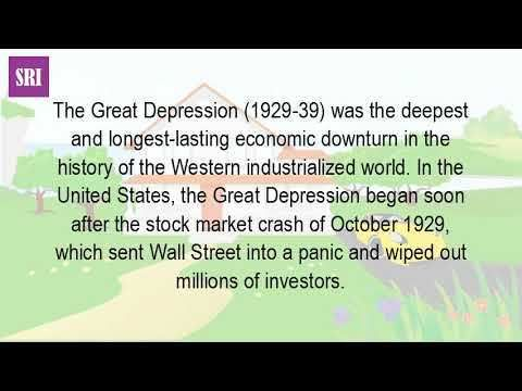 What Event Caused The Great Depression? - WATCH VIDEO HERE -\u003e