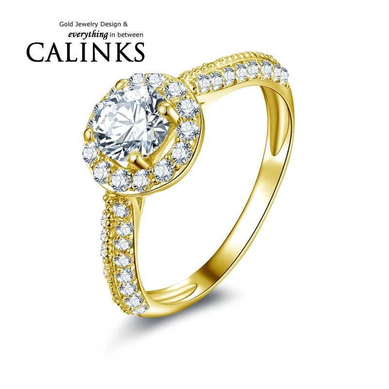 Pin On 10k Yellow Gold With Cz