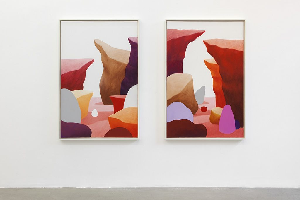 Nicolas Party's vibrant forms that move beyond the frame