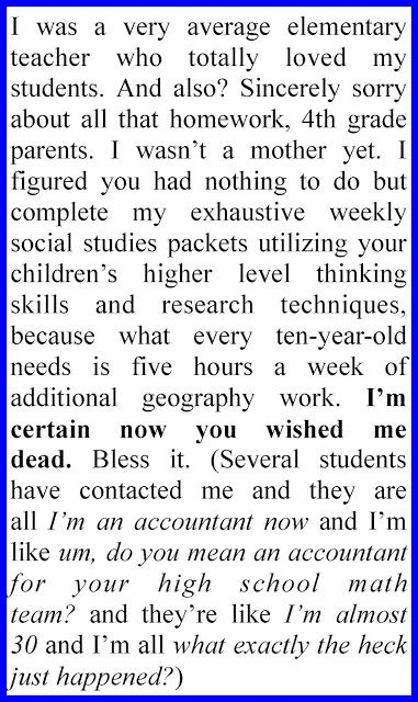 Teacher Appreciation from Others-Must Read!