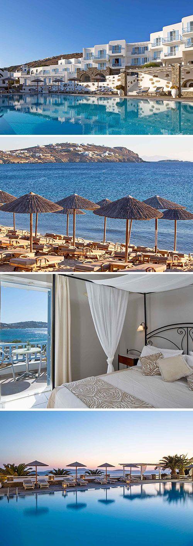 Waarom je bij Manoulas Mykonos Beach Resort de vakantie van je leven viert? In het viersterren complex wordt traditionele Cycladische architectuur moeiteloos gecombineerd met luxe, je kunt er rekenen op de beste gastvrijheid en beschikt over een zwembad en strand voor de deur. Welkom op mediterraan Mykonos!