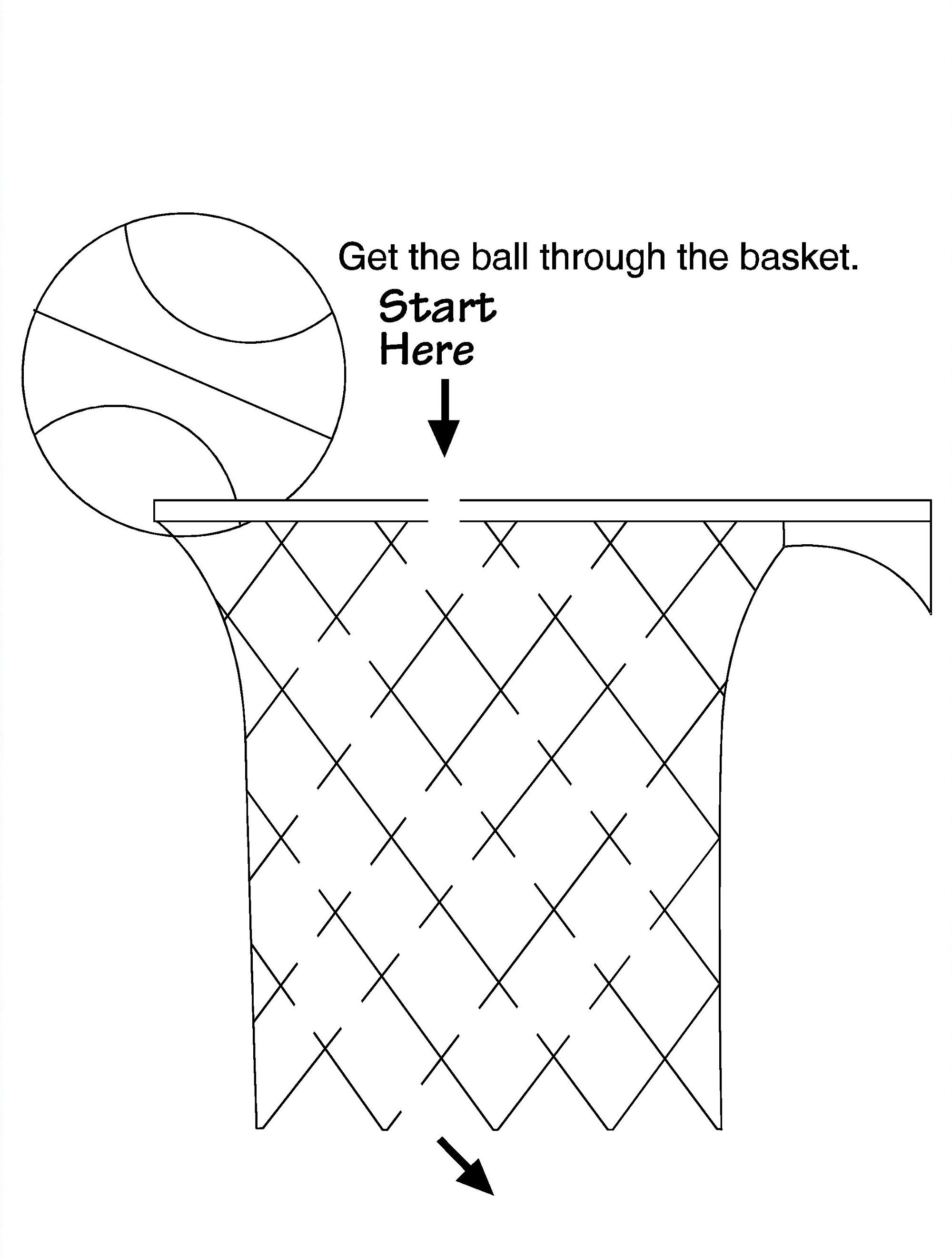 Basketball Activities Worksheet For Kids Kids Worksheets Printables Worksheets For Kids Online Kindergarten Math Games
