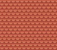 Morandi Sisters Microworld: Printable Roof Tiles - in 6