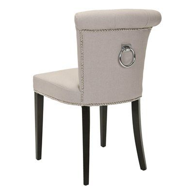 Elegant Chair With Studs And Knocker. Home Sense Has Them In Fabric. I Want To · Dining  Room ...