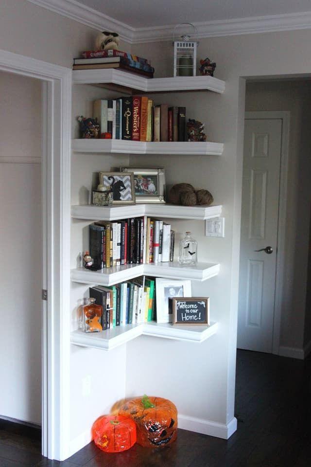 Corner Shelves A Smart Small E Solution All Over The House