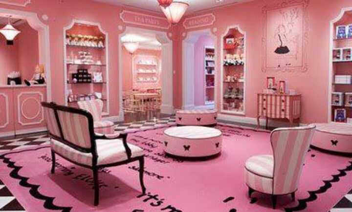 Princess pink living room | Home improvement ideas... | Pinterest ...