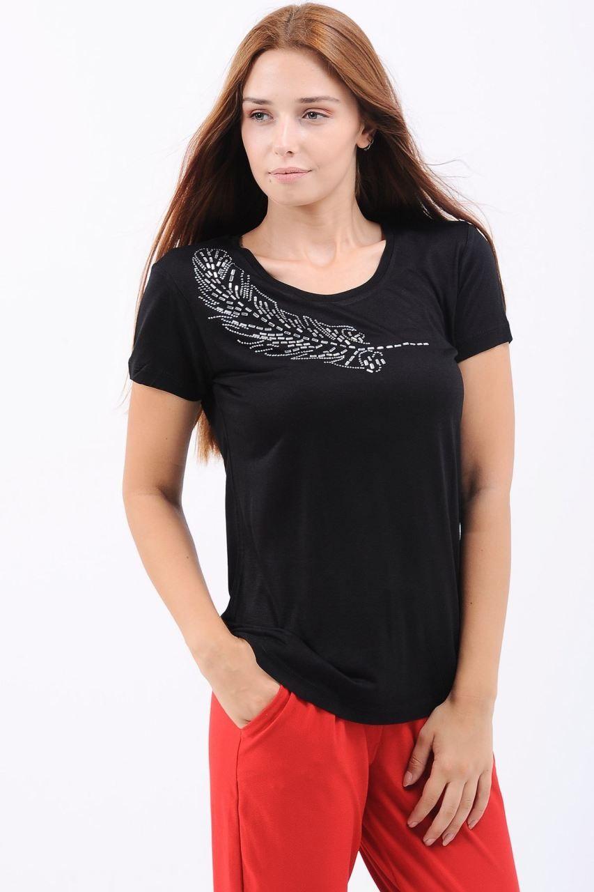 Omuz Tas Isleme Siyah T Shirt Giyim Indirim Kampanya Bayan Erkek Bluz Gomlek Trenckot Hirka Etek Yelek Mont Kase Kaban Elbise Moda Siyah Mont
