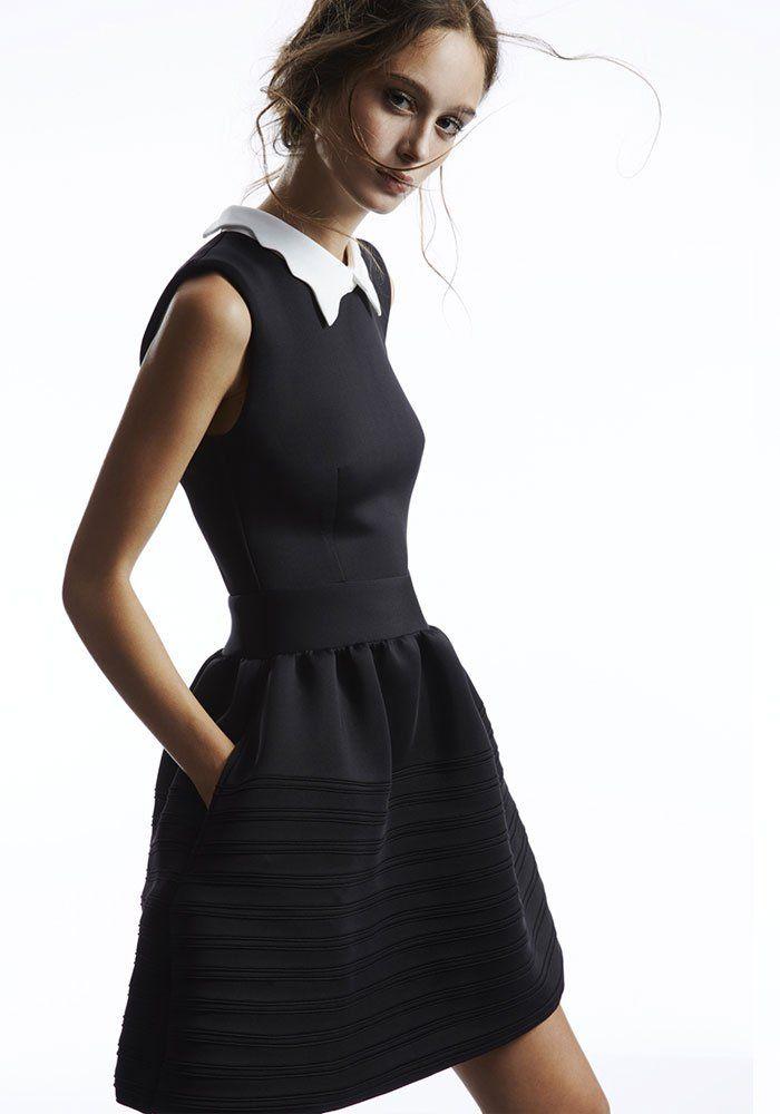 MajePetite Robe Dress MajePetite NoireDressLil Black Robe nym0v8NwO