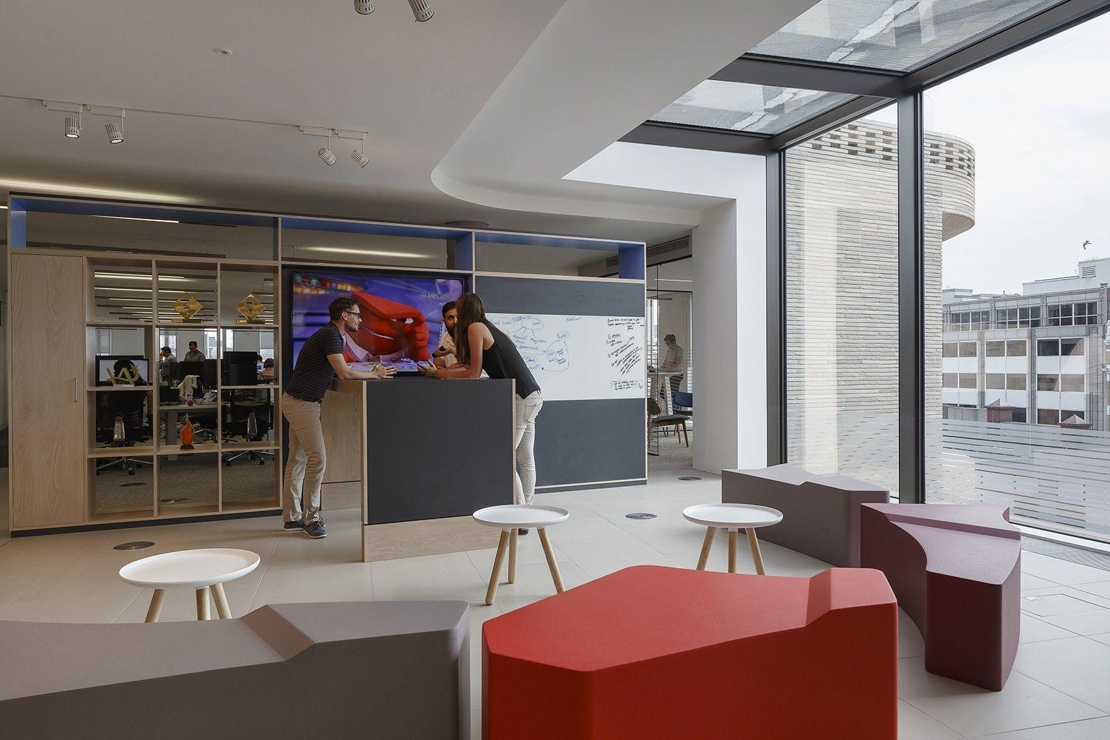 Inside MediaVest Group's Elegant London Office