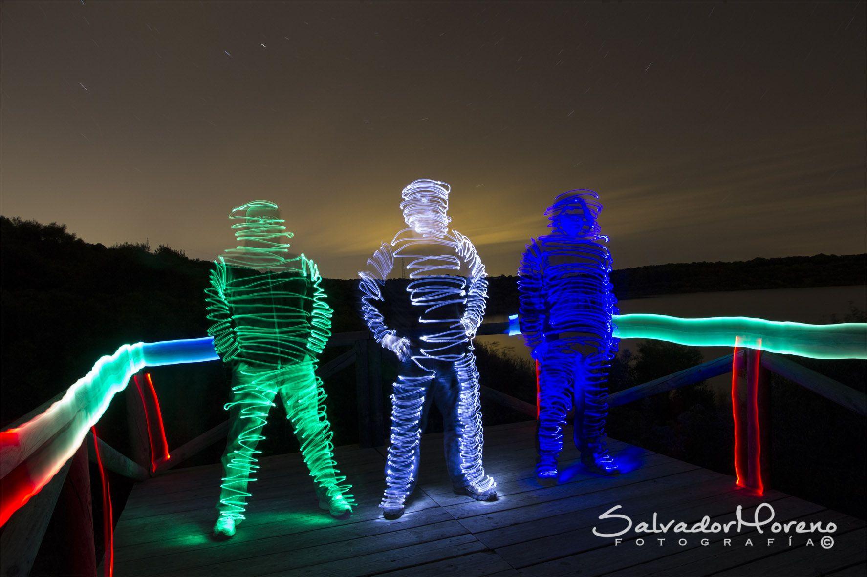 Laguna de Medina (Jerez). foto: Salvador Moreno #photo #lightpainting  #nocturna