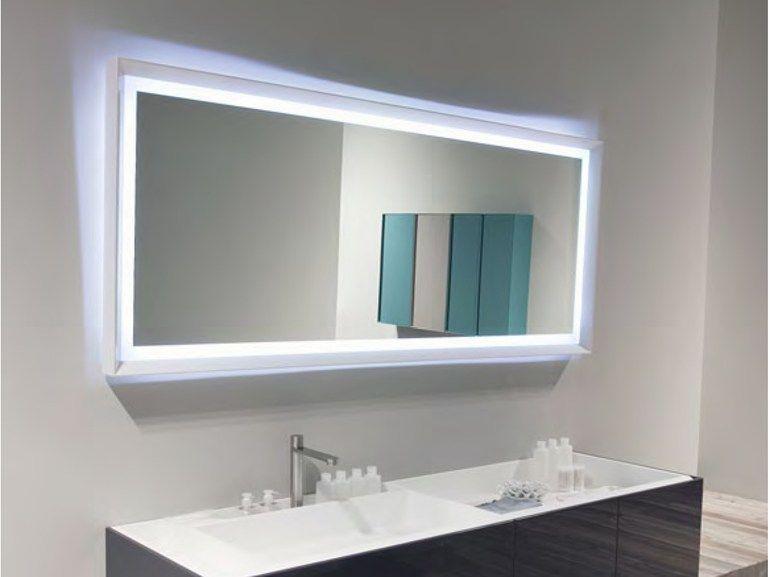 Colombo Bagno ~ Specchio bagno rettangolare sfoglia by antonio lupi design
