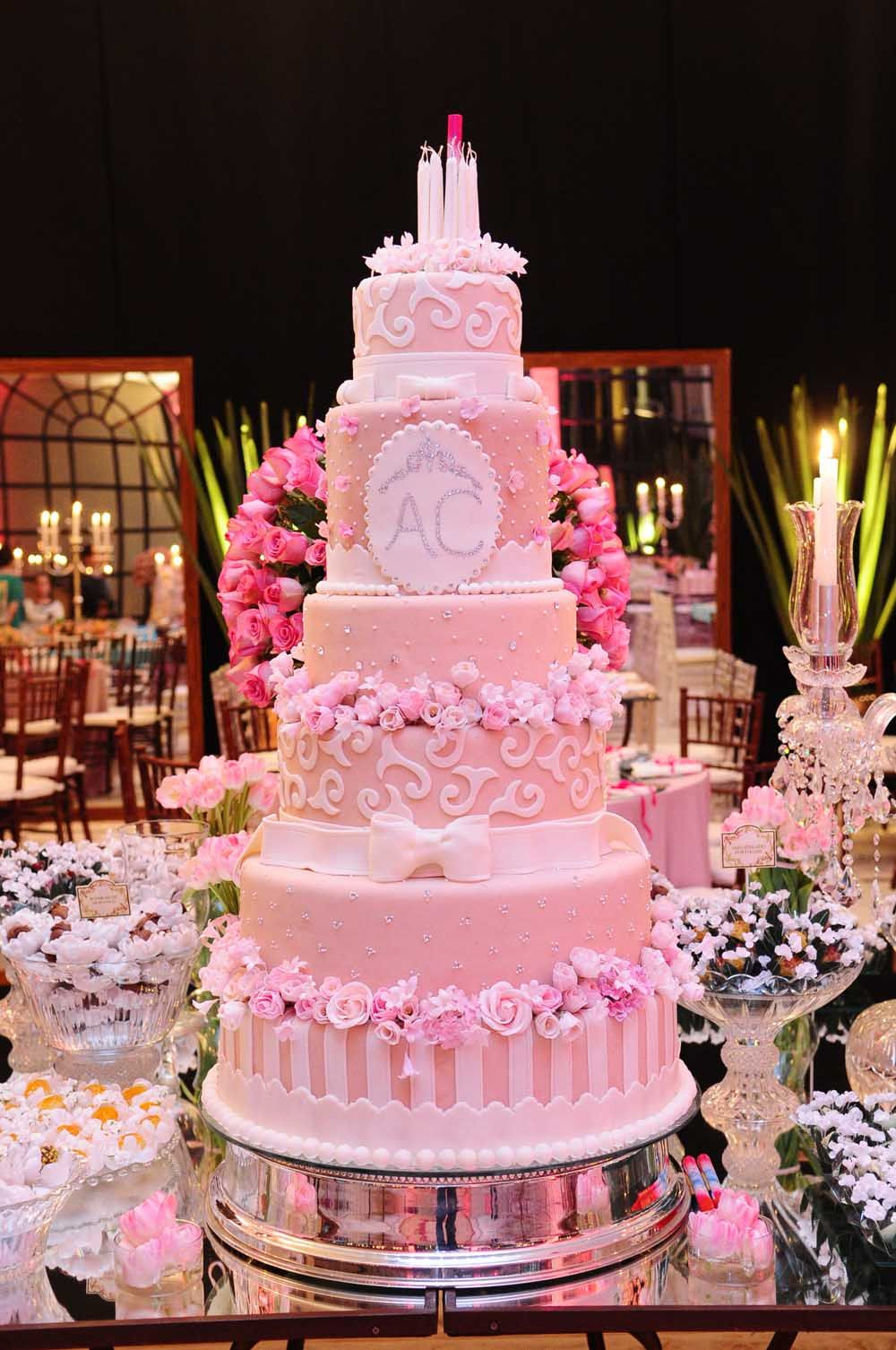 festa alice 15 anos - Pesquisa Google | Cake and decorations ...