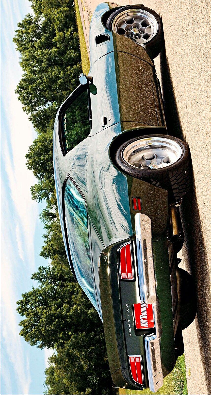 1973 Pontiac 455hd Trans Am Enhanced By Keely Vonmonski Cool