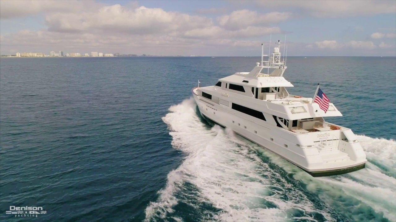 Broward 125 Yacht Tour SHOWTIME wysluxury (With images