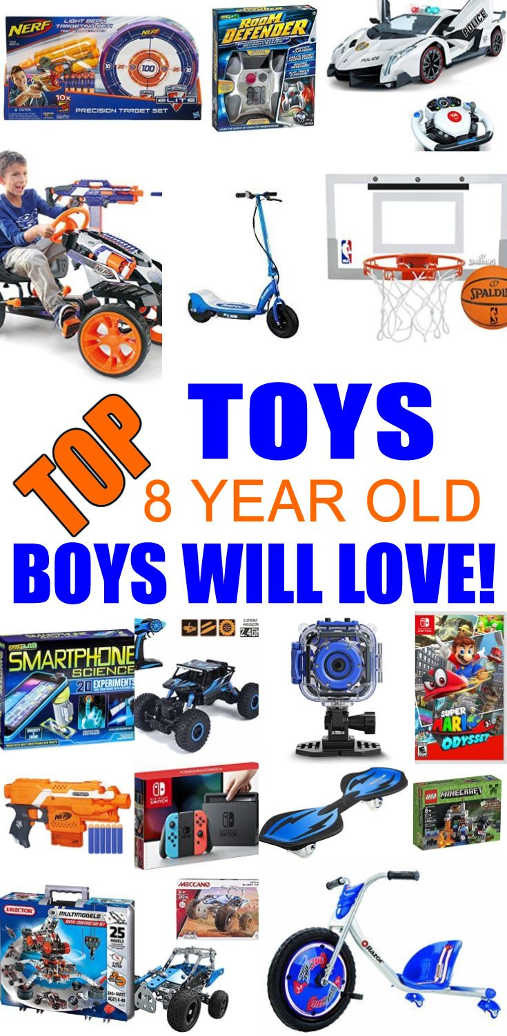 Best Toys For 8 Year Old Boys Birthday Presents For Boys