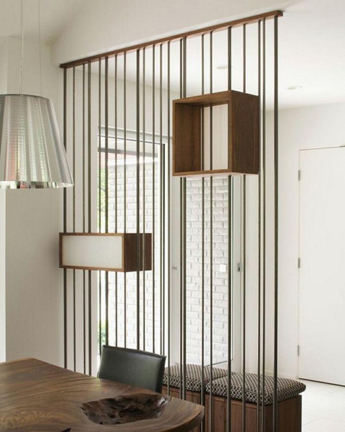 raumtrenner ideen raumteiler vorhang raumteiler regal weisse deko wand regal bauhaus home. Black Bedroom Furniture Sets. Home Design Ideas
