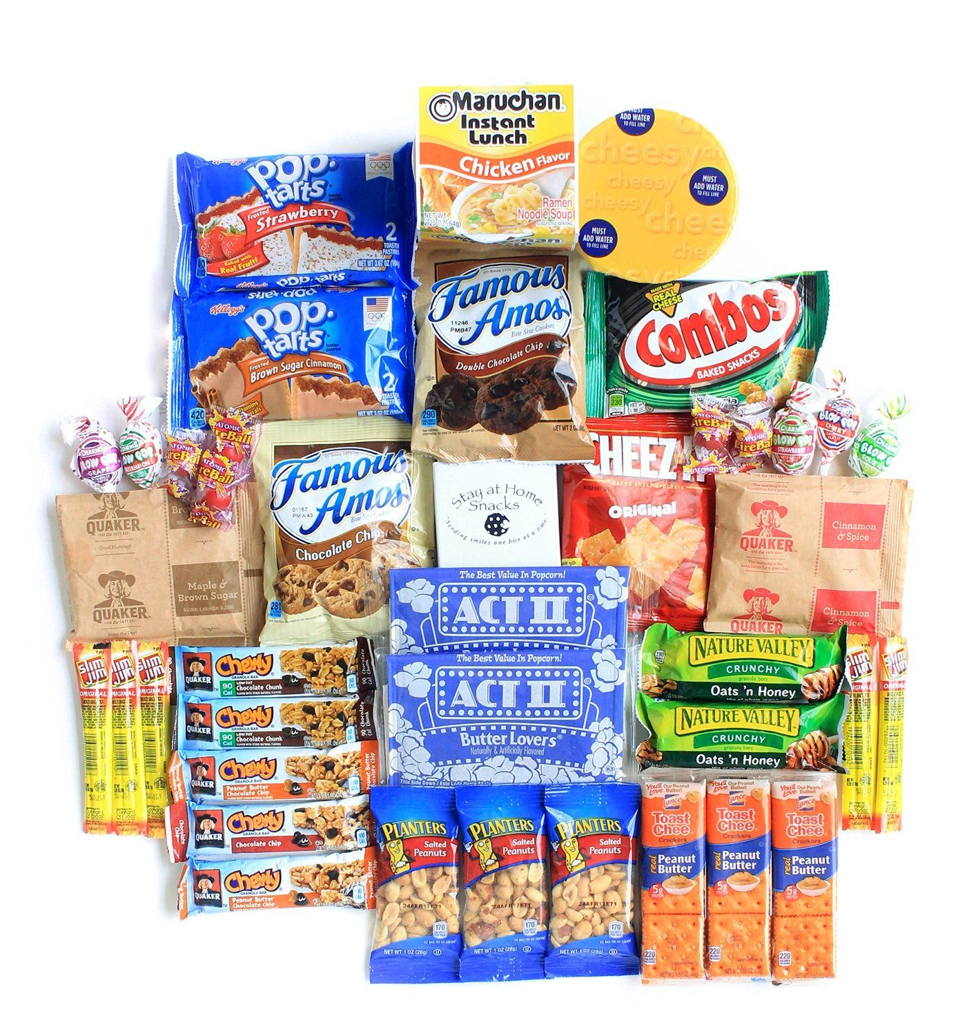 Ultimate Care Package Full of Delicious Comfort Food and Snacks ...