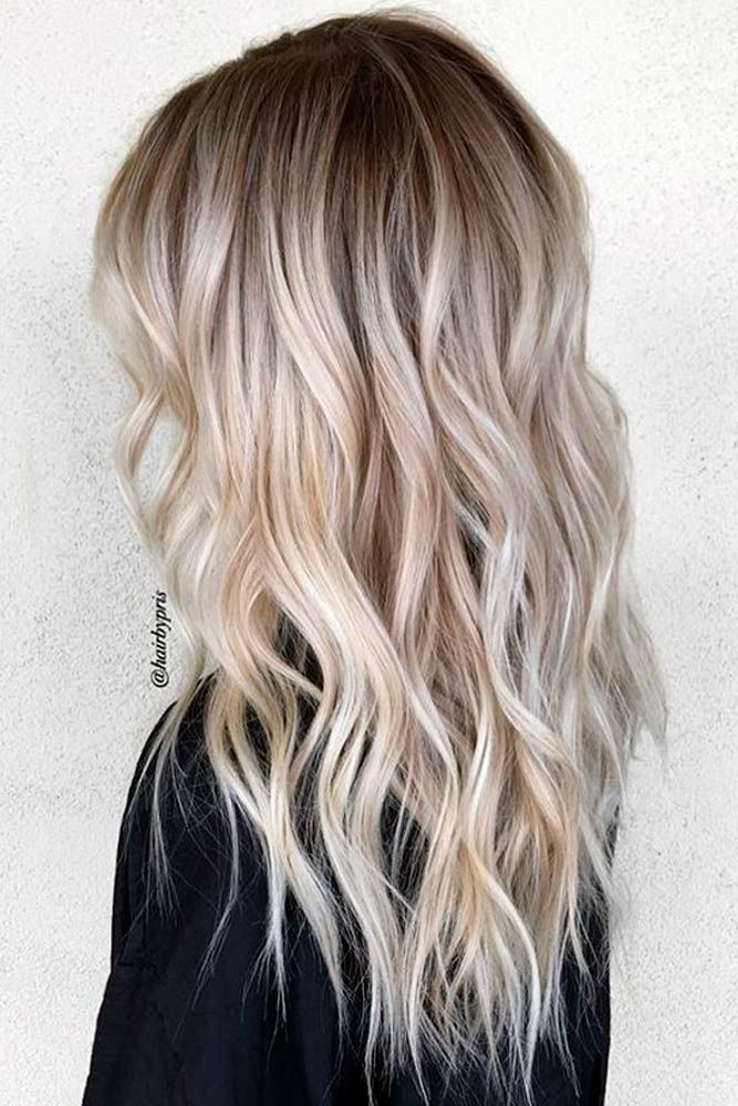 Ombre Hair Looks That Diversify Common Brown And Blonde Ombre Hair Hair Styles Ombre Hair Blonde Platinum Blonde Hair Color