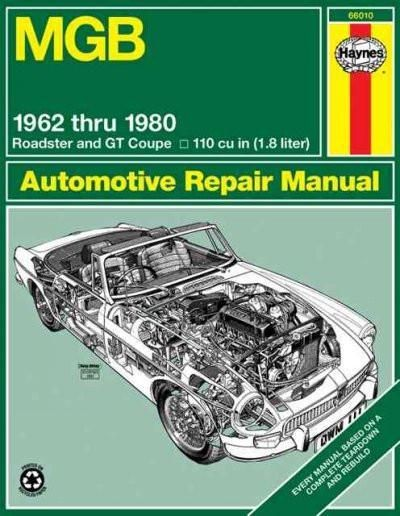 mgb automotive repair manual all models of the mgb roadster and gt rh pinterest com Automotive Technician Automotive Technician