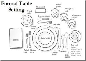 formal table setting by Rose of Sharon.  sc 1 st  Pinterest & formal table setting by Rose of Sharon. | Good Belly Fat Reduction ...