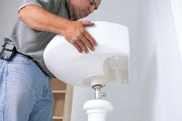 How to Install Pedestal Sinks