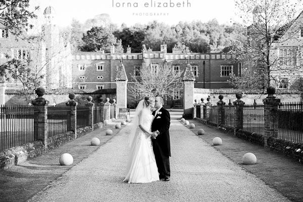 A timeless English wedding venue at Wotton House in Surrey
