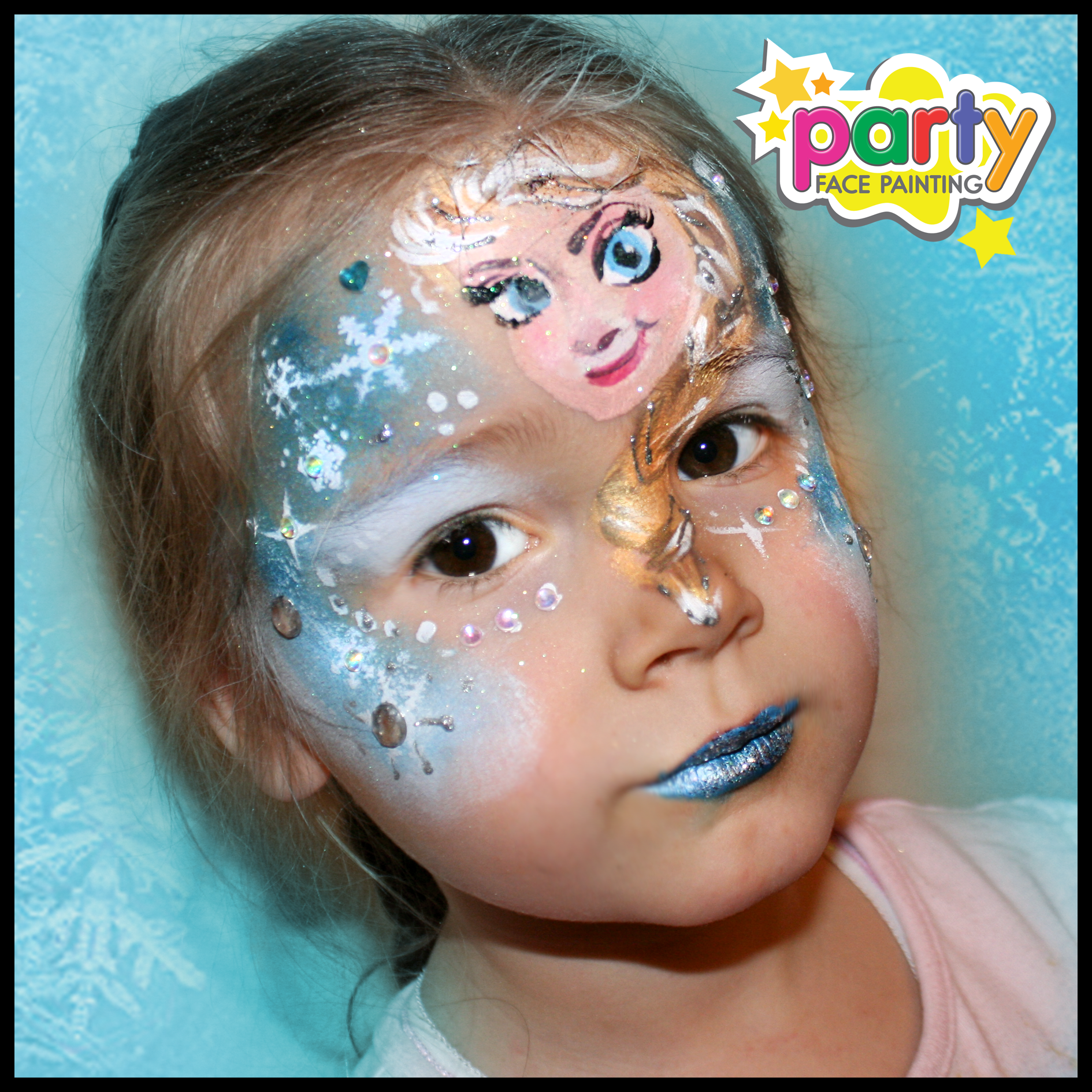 Frozen face painting ideas face painting ideas for Frozen face paint