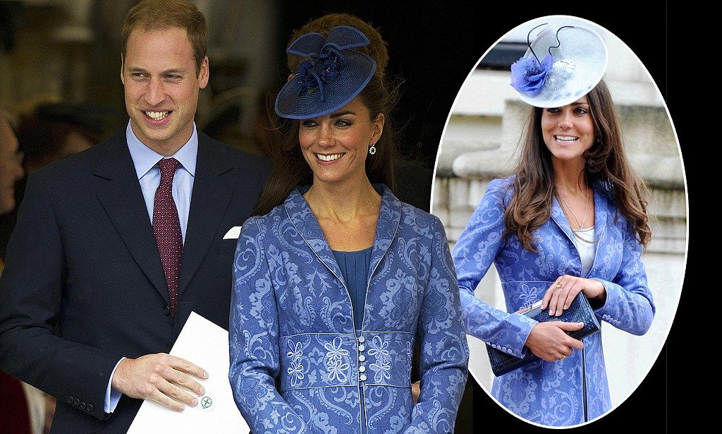Kate joins the royal recyclers: Duchess gives favourite coat an extra outing