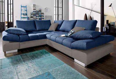 Led Beleuchtung Ecksofa Grau Schwarz Wohnzimmer Sofas Schenkel Einrichtung Rgb Couch Sofa Diapers