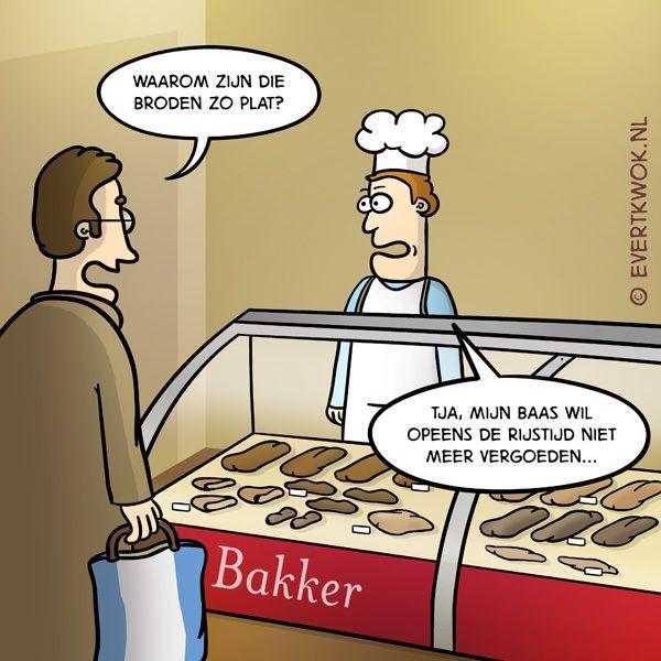 komt een man bij de bakker | lol - funny, cartoon jokes en funny