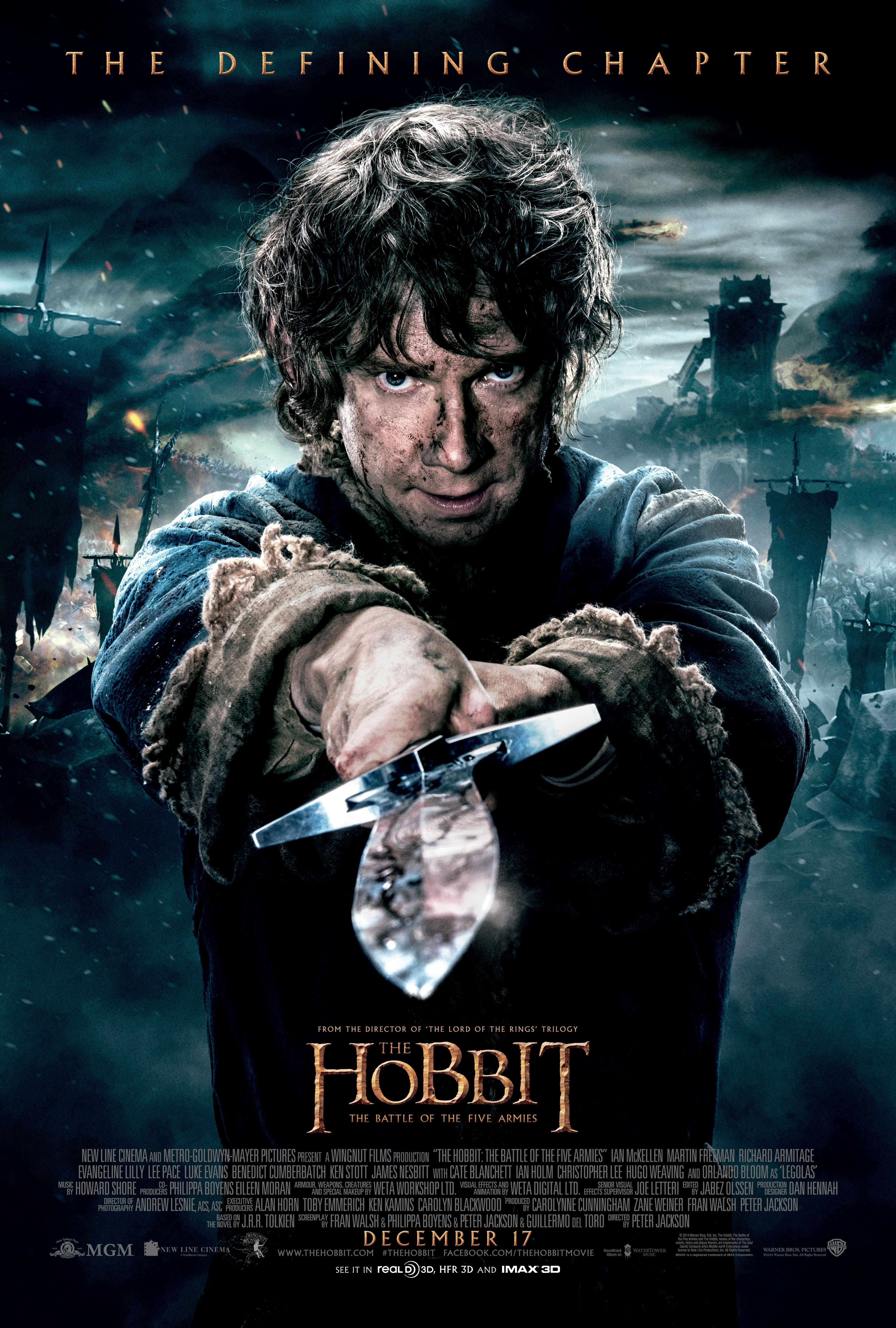 The Hobbit: The Battle of the Five Armies Extended Edition will arrive at select Regal Cinemas on October 13, 2015. Get your advanced tickets and showtimes: http://regmovi.es/1LhWDLV